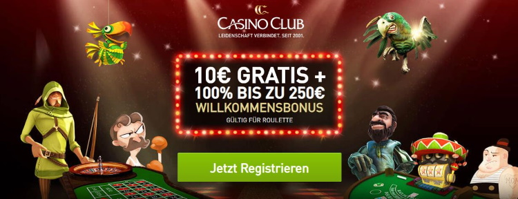Casino Club Bonus