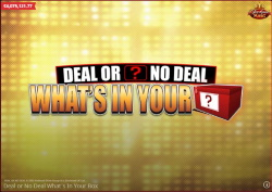 Betfair Deal or no Deal