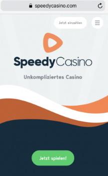 Speedy Casino mobile App