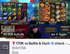 Roshtein Twitch Video