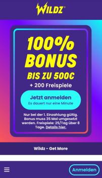 Wildz mobile App