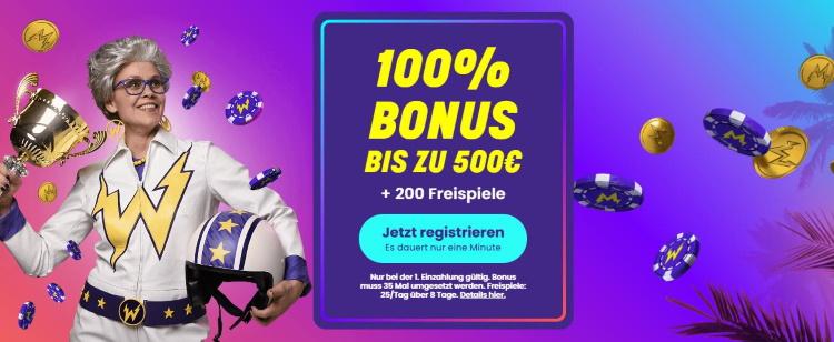 Wildz Bonus