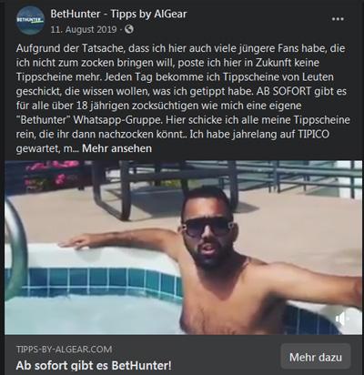 AlGear Bethunter Facebook