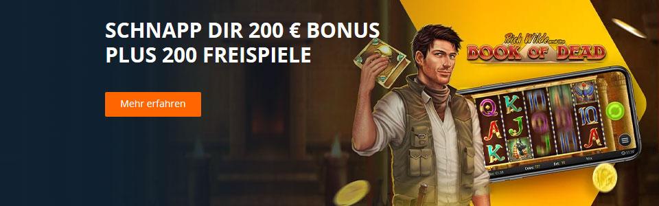 Betsson Casino Bonus Banner