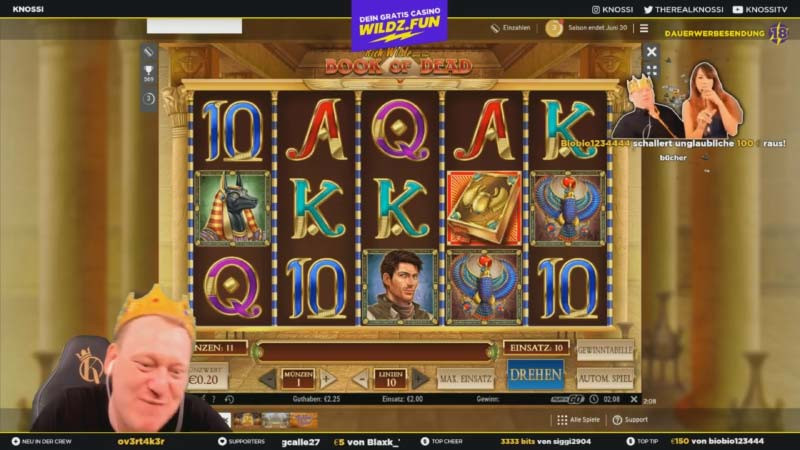 Welches Online Casino Spielt Knossi