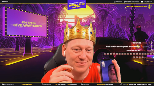 Casino Streamer TheRealKnossi Twitch