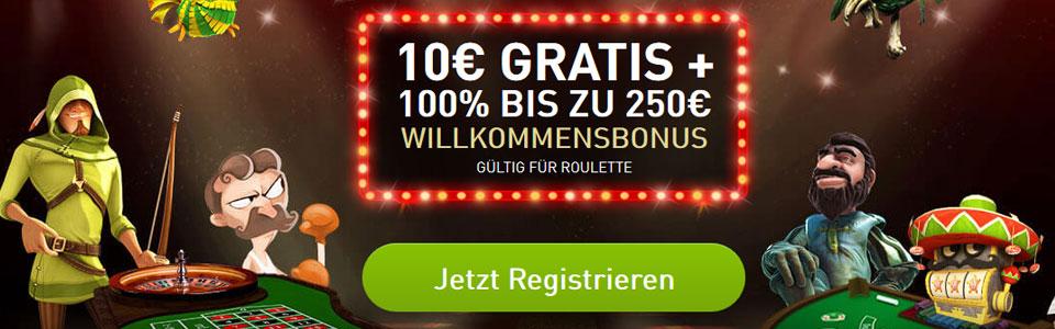CasinoClub Bonus Banner
