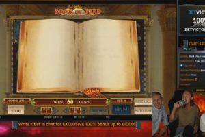 CasinoDaddy Book of Dead Vorschau