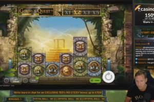 CasinoDaddy Gonzos Quest Megaways Vorschau