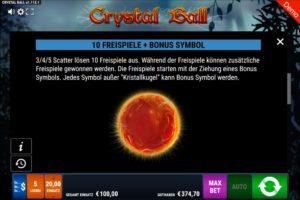 Crystal Ball Vorschau Freispiele