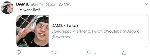 Damil Twitter