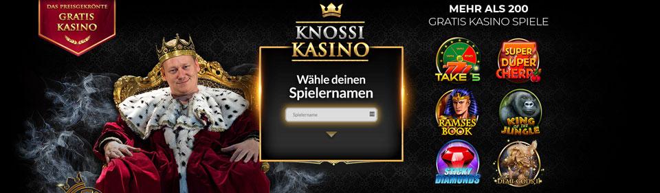 Knossi Kasino Banner