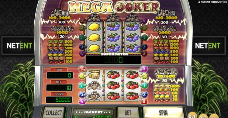Mega Joker Slot Netent