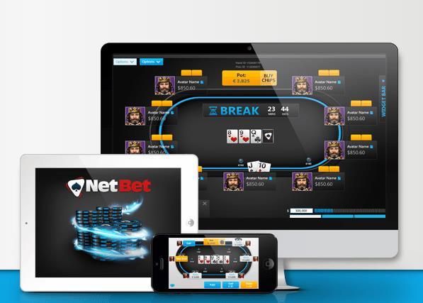 Netbet Poker mobil