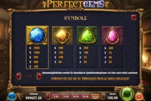 Perfect Gems Vorschau Gewinne