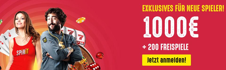 Spinit Casino Bonus Banner
