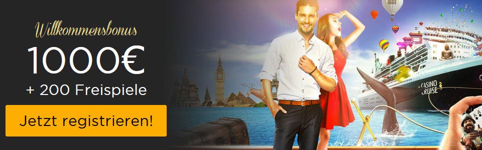 Casino Cruise Bonus Banner