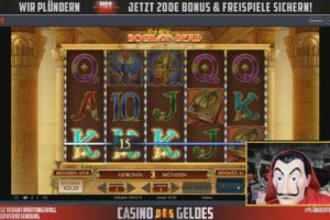CasinoDesGeldes Vorschau Book of Dead