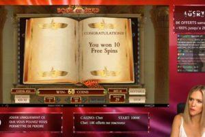 Casinogirlz Book of Dead Freispiele