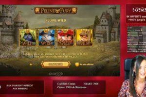 Casinogirlz Feline Fury Wild Feature