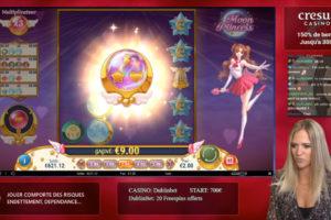 Casinogirlz Moon Princess Bonus