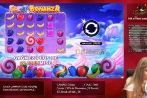 Casinogirlz Sweet Bonanza Features