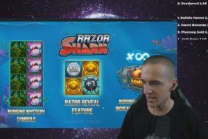 CrazyDomme Razor Shark Features
