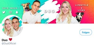 Duo Casino Streamer Twitter