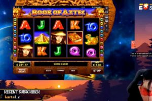 JackpotRabbit Book of Aztec Slot