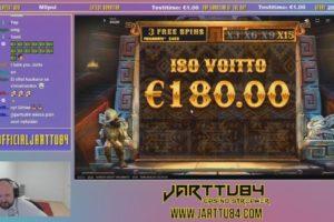 Jarttu84 Gonzos Quest Megaways Big Win