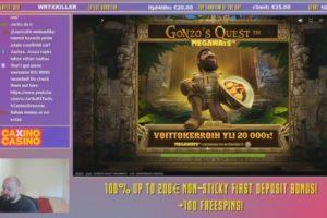 Jarttu84 Gonzos Quest Megaways Slot