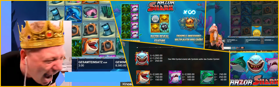 Knossi Razor Shark online Casinos