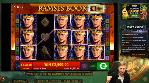 Casino Daddy Bonushunt Ramses Book