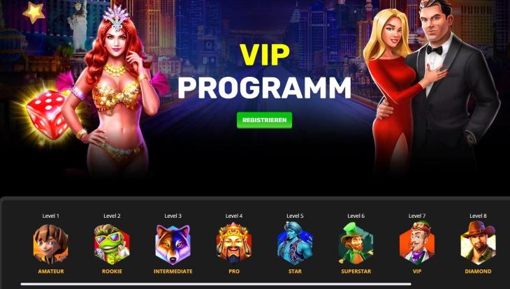 Playamo VIP Programm