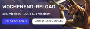 Woocasino Reload Bonus