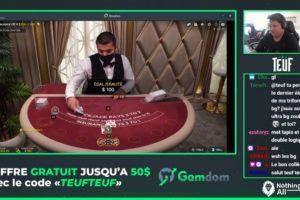 Teuf Blackjack Vorschau Live