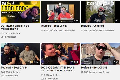 Teuf Youtube