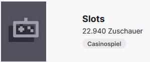 Twitch Kategorie Slots