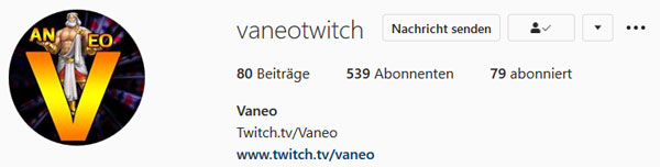 Vaneo Instagram