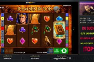 Vaneo Ramses Book Vorschau Slot