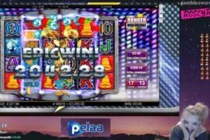 CasinoGrounds Danger High Voltage Vorschau Big Win