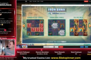 CasinoGrounds Iron Bank Vorschau Bonus
