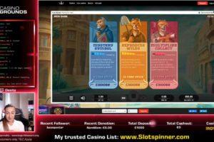 CasinoGrounds Iron Bank Vorschau Freispiele