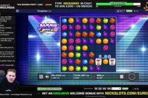CasinoGrounds Nickslots Jammin Jars Bonus