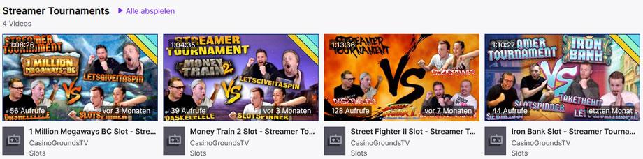 CasinoGrounds Twitch Turniere