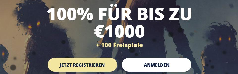 CasinoRoom Bonus Banner