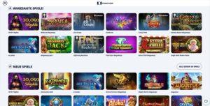 CasinoRoom Vorschau angesagte Slots