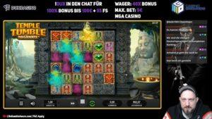 Gamble Gangsta Temple Tumble Megaways Vorschau Feature