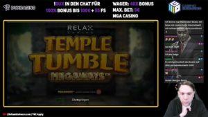 Gamble Gangsta Temple Tumble Megaways Vorschau Logo