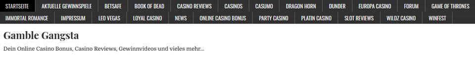Gamble_Gangsta Website